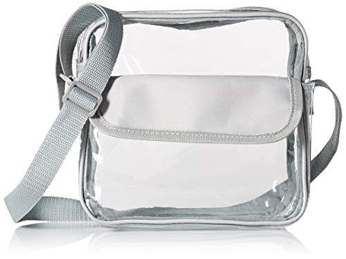e60bcacc05 Event Stadium Approved Clear Messenger Bag Clear Shoulder Bag Transparent  Purse with Adjustable Strap