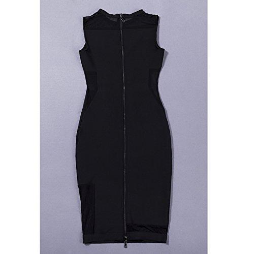 HLBCBG schwarz Kleid schwarz 36 Damen rASwr