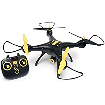 Tenergy Syma X8SW Wifi FPV Quadcopter Drone 720P HD Camera Altitude Hold RC 2.4G 4CH 6 Axis (Exclusive Black Yellow Color)