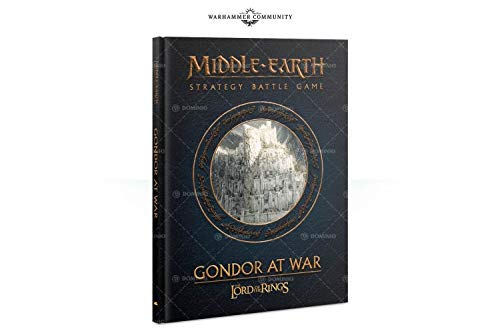 Citadel Gondor at War Lord of The Rings Strategy Battle Game Book (HB) (Lord Of Rings Games Workshop)