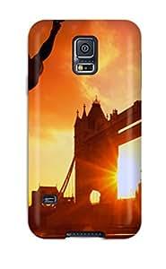 Tough Galaxy BCNIuYj1454INKiK Case Cover/ Case For Galaxy S5(london Tower Bridge England)