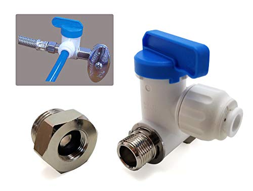 it Angle Stop Adapter Valve - Fits both 3/8
