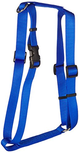 Coastal Pet Products DCP6943BLU Nylon Standard Adjustable Dog Harness, Large, Blue