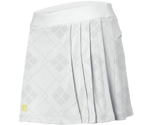 Wilson Women's Timeless Skirt - White (XS) (Wilson Skirt White)