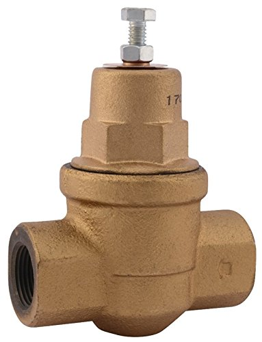 Cash Acme 23000-0045 Pressure Regulator, EB75 FPT X FPT Cartridge Based Design, 10 psi - 70 psi Range, ()