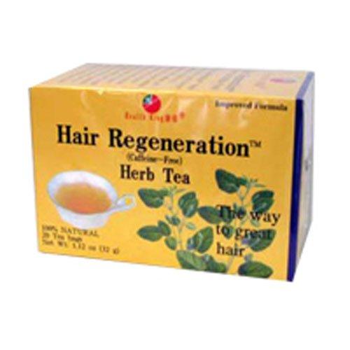 Health King Hair Regeneration Herb Tea - 20 Tea Bags pack of - 6