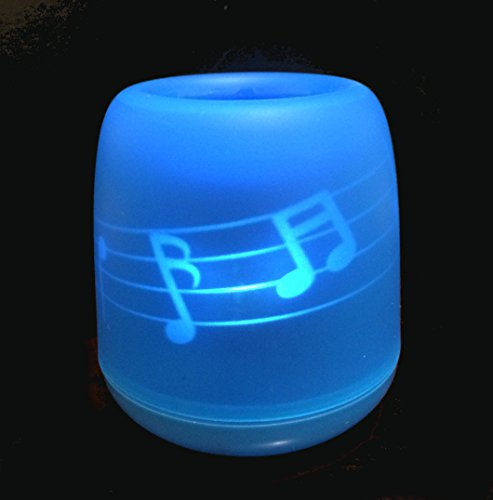Top Race® Flameless Blow Activate Led Candle (Musical Notes)
