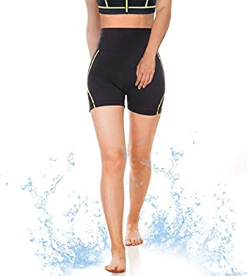 CtriLady Women Wetsuit Shorts Surfing Kayaking Snorkeling Swimming Pants Water Sports Swimwear with Back-Zipper-Pocket