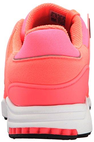 Adidas Originali Mens Eqt Support Rf Fashion Sneaker Turbo Nero / Bianco