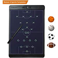 New Boogie Board Coaches Clipboard Baseball Soccer Basketball : Like a Digital Dry Erase Whiteboard for Drawing Play Lineup Playbook Scorebook Coach Board Softball