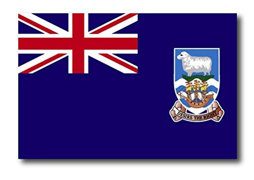 (Falkland Islands Flag Car Magnet Decal - 4 x 6 Heavy Duty for Car Truck SUV)