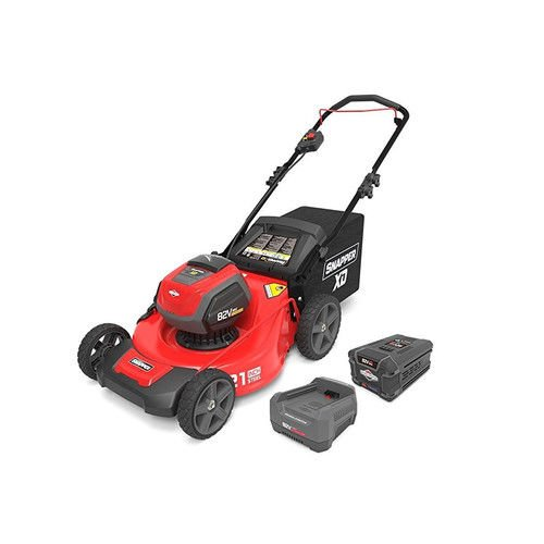 Snapper XD SXDWM82K 82V Cordless 21-Inch Walk Mower Kit with (2) 2Ah Battery & (1) Rapid Charger, 1687884 (Mower Push Cordless)