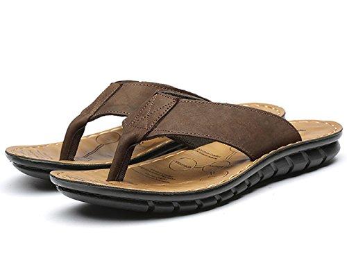 Zapatos Para De Sandalias Piscina Punta Hombre Playa Y Beige Descubierta wIIrq1