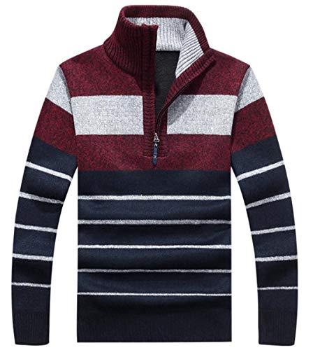 1/2 Zip Pullover Knitted Fleece - 9