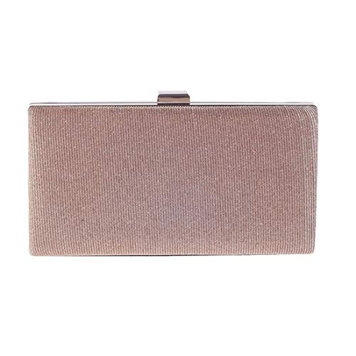Handbags Bag Shell Fly Clutch Dinner Bag European American Evening Fashion Hard Champagne qTX8wfCXn
