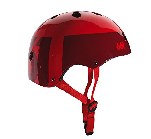 661 Dirt Lid Helmet (Red, One Size) ()