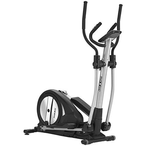 Maxxus Crosstrainer CX 3.0 – Bicicleta elíptica silenciosa que ocupa poco espacio, control Bluetooth. 26 kg de masa…