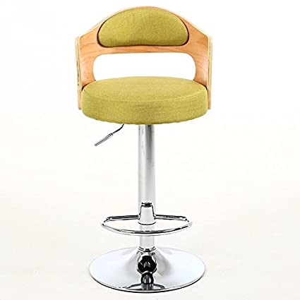 Amazon Com Alus Chair Retro Iron Chair Rotating Bar Stool Armchair