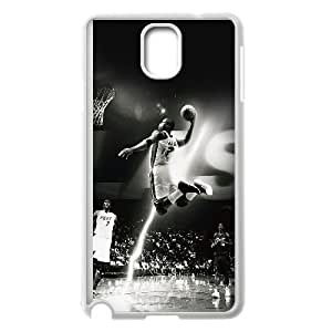 Samsung Galaxy Note 3 Cell Phone Case White_Dwyane Wade Dunk Nba Flash Sports TR2396212