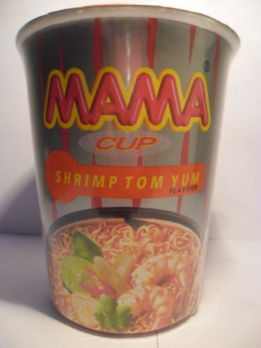 Mama Tom Yum Kung Flavoured Instant Noodle Cup 60 G.