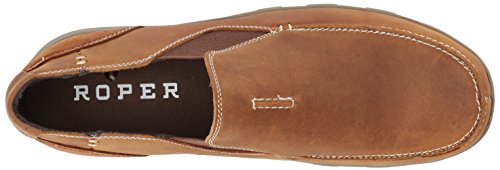 Roper Hombres Buzzy Driving Style Loafer Tan