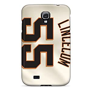 Samsung Galaxy S4 OGf1714PquS Support Personal Customs Attractive San Francisco Giants Pattern Shock Absorbent Hard Phone Cover -DannyLCHEUNG