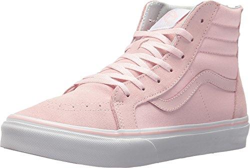 Vans Kids K SK8-HI Zip chalk Pink True White Size 13 (Van Pink)
