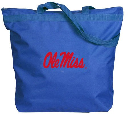 Mississippi Gift Rebels (Mississippi Rebels - Ole Miss - NCAA Zippered Tote)