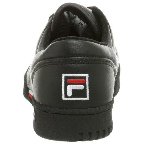 Fila Heren Originele Fitness Sneaker Zwart / Wit / Rood
