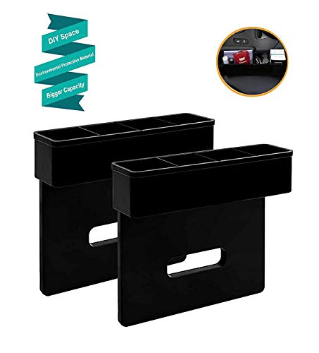 Vencer Biggest DIY Console Side Pocket Car Organizer/Seat Catcher,Fills The Gap Between The Seat Set of 2,VAK-043