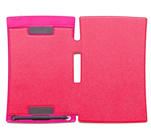 Xcivi PU Leather Protective Case for Boogie Board Jot 8.5-inch LCD Writing Tablet (Red)