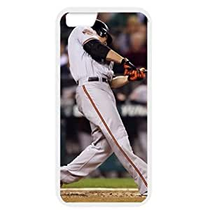 MLB iPhone 6 White Baltimore Orioles cell phone cases&Gift Holiday&Christmas Gifts NBGH6C9125273