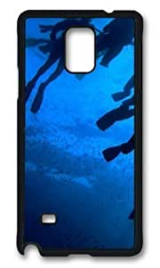 Adorable Divers Paradise Hard Case Protective Shell Cell Phone Samsung Galaxy Note2 N7100/N7102