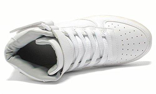 hombre de zapati luces Shoes zapatillas USB toalla Light LED pequeña calzado de techo para 7 carga deportes Presente intermitentes c7 color JUNGLEST® de wqvfFO