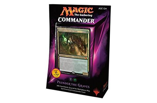 MTG Commander 2015 Edition Magic the Gathering - Plunder the Graves Black Green Deck New Sealed by Magic: the Gathering