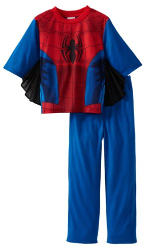 Spiderman Boys 2-7 Ultimate Uniform 2 Piece Sleep Set