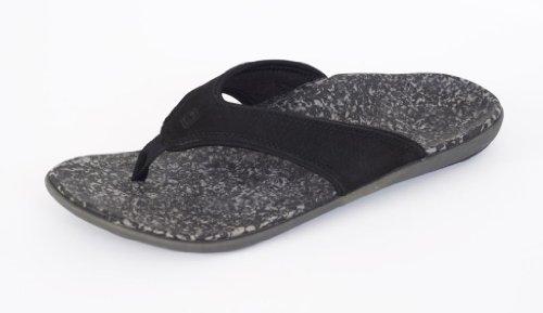 Spenco Men's Yumi Leather Sandal, Black 13M Medium US by Spenco (Image #6)