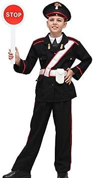 Vestito Carabiniere Bambino.Pegasus Vestito Costume Maschera Di Carnevale Bambino Carabiniere Taglia 6 7 Anni 107 Cm Amazon It Giochi E Giocattoli
