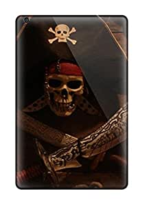New Ipad Mini 3 Case Cover Casing(attractive Pirates Skull Halloween Other) 1220625K55062522