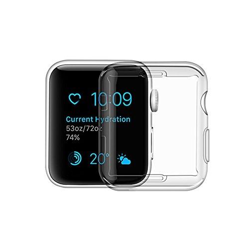 Cheap Smart Watch Screen Protectors Apple Watch Series 1 Case, iphone Watch 1 TPU Screen Protector All-around..