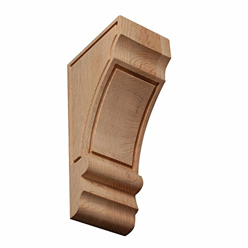 Richelieu Hardware 0112625 Mission & Shaker Corbel - MS6, 12 in in, Red ()