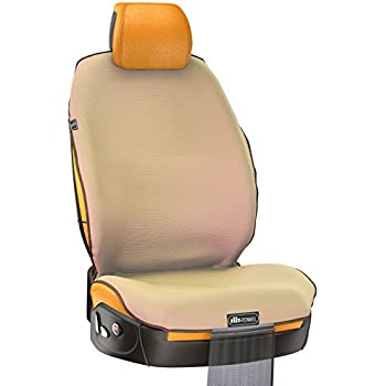 Amazon.com: TiiL Universal Front Car Seat Cover for Cars - Suits ...