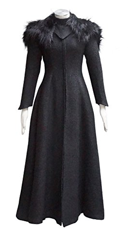 Game Of Thrones Cersei Costume (Cosdaddy Thrones Game Cersei Lannister Cosplay Queen Dress Winter Costume (L))