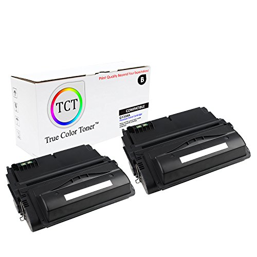 TCT Premium Compatible Toner Cartridge Replacement for HP 38A Q1338A Black Works with HP Laserjet 4200 4200N 4200TN 4200DTN 4200DTNS 4200DTNSL Printers (10,000 Pages) - 2 Pack
