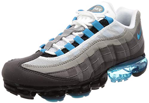 Nike Air Vapormax'95 Men's Shoes Black/Neo Turquoise/Medium Ash aj7292-002 (10 D(M) US) (Best Air Max 95)
