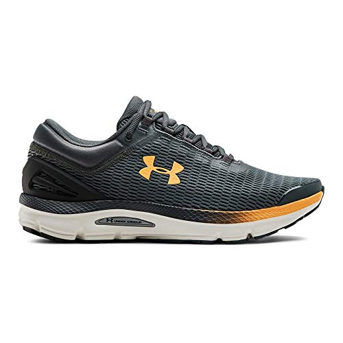 aa2cba927ed5c Under Armour Men's Charged Intake 3 Running Shoe, Pitch Gray (103)/Onyx  White, 7 M US