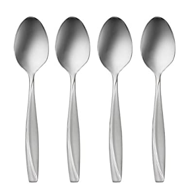 Oneida Camlynn Set of 4 Teaspoons - set of 4 teaspoons 6 inches long SATIN HANDLE - kitchen-tabletop, kitchen-dining-room, flatware - 41KaIPw6YOL. SS400  -