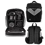Camera Backpack Bag Waterproof for Canon Nikon Sony Olympus & More Cameras Lenses