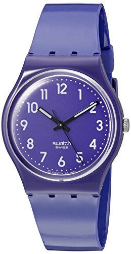 Swatch Women's GV121 Plastic Purple Watch