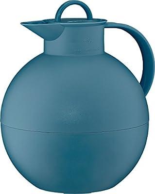 0.94 L Vintage Indigo alfi Kugel Glass Vacuum Frosted Plastic Thermal Carafe for Hot and Cold Beverages
